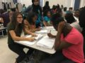FUSDGOLDENBELL: Summit High School's Link Crew students tutor freshmen as part of the school's Freshman Success Intervention Program (FSIP), which was awarded a 2016 Golden Bell Award for using innovative strategies to improve student achievement.