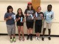 JUSTWater: Azusa Unified students enjoy bottles of JUST Water during lunchtime on Aug. 30, a week before the District begins offering free bottles to students on Mondays and Wednesdays if they are enrolled in the USDA school breakfast program.