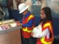 SYSD BizTown 4: La Mirada students from BizTown SDG&E go over duties and prepare for the work day.