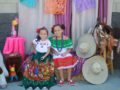 SYSDMexIndepWillow1: Willow Elementary second-grader Camila Fernandez, on the right, celebrated Mexican Independence Day dressed in traditional Mexican attire.