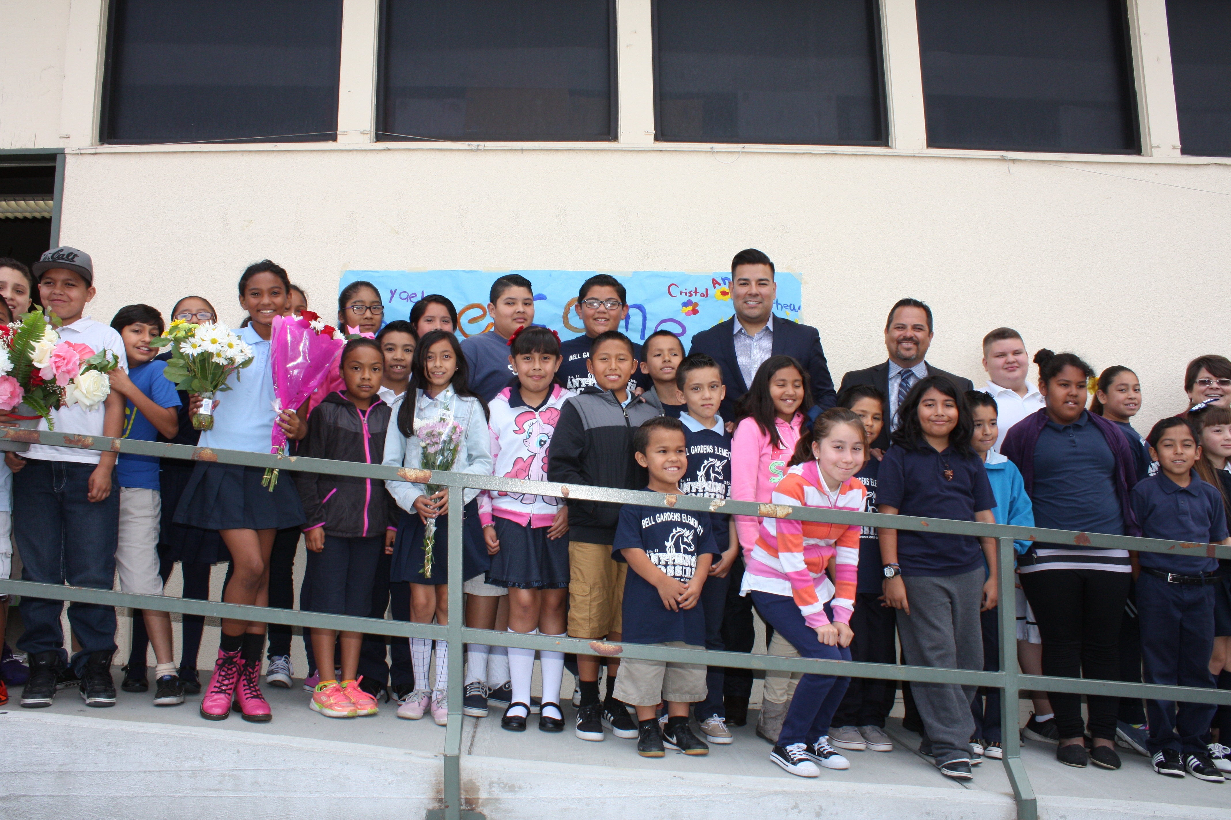 Bell Gardens Elementary Fifth Graders Discuss