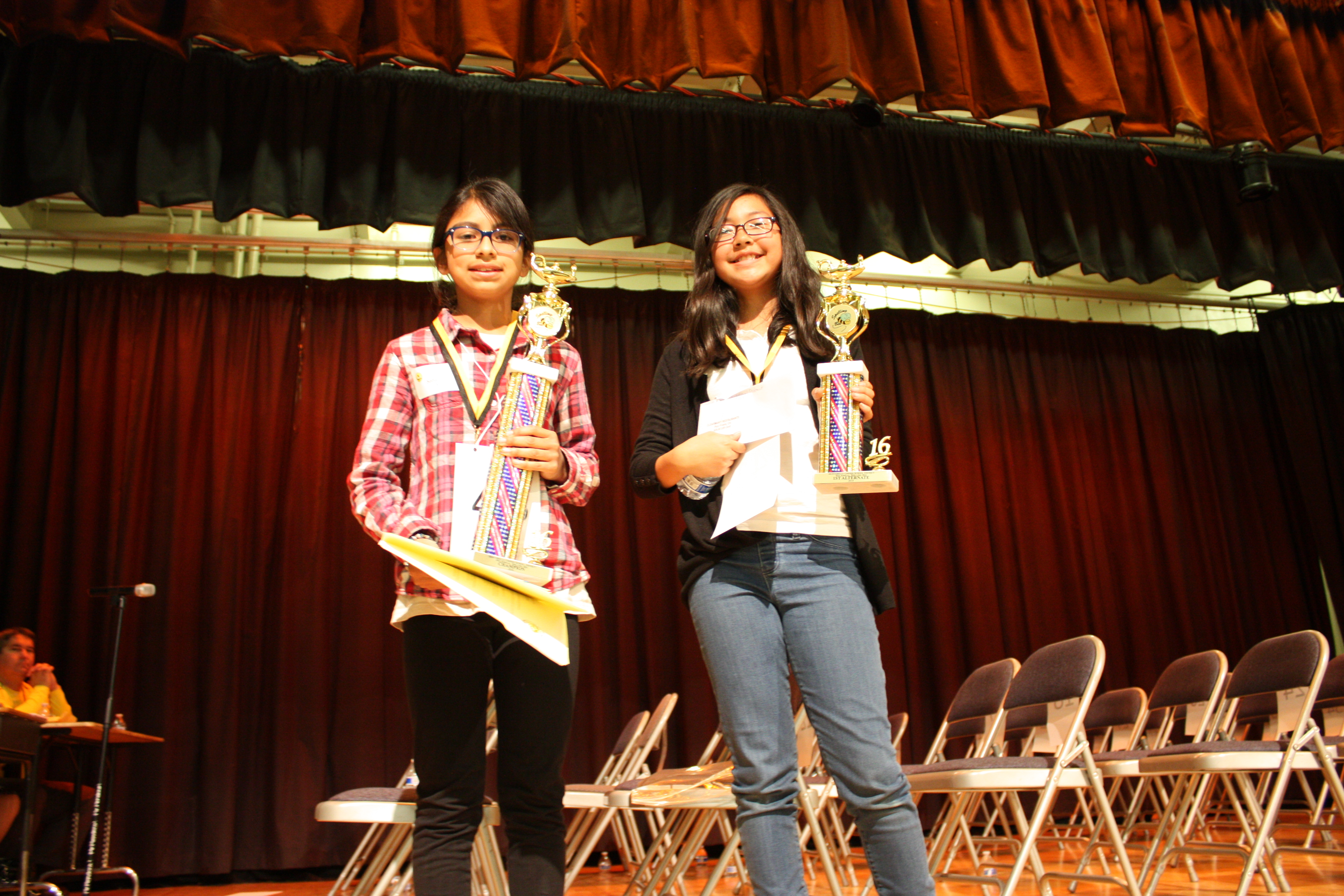 Macy Intermediate Sixth Grader Wins Hard Fought Montebello Unified Spelling Bee California