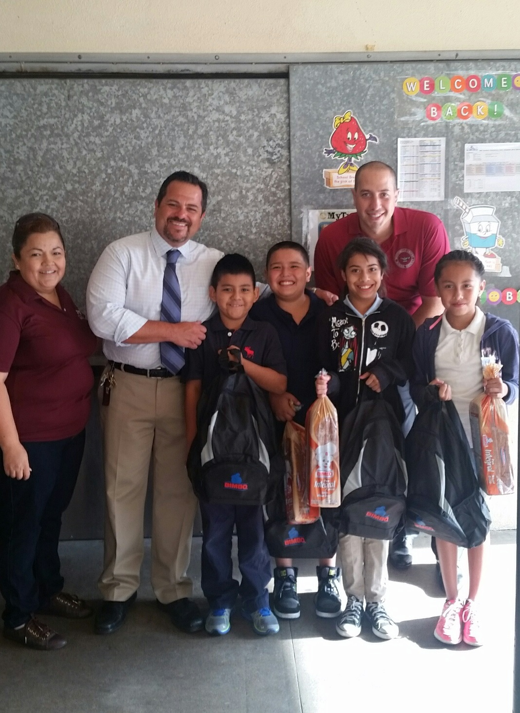 Bell Gardens Elementary Students Start School With School