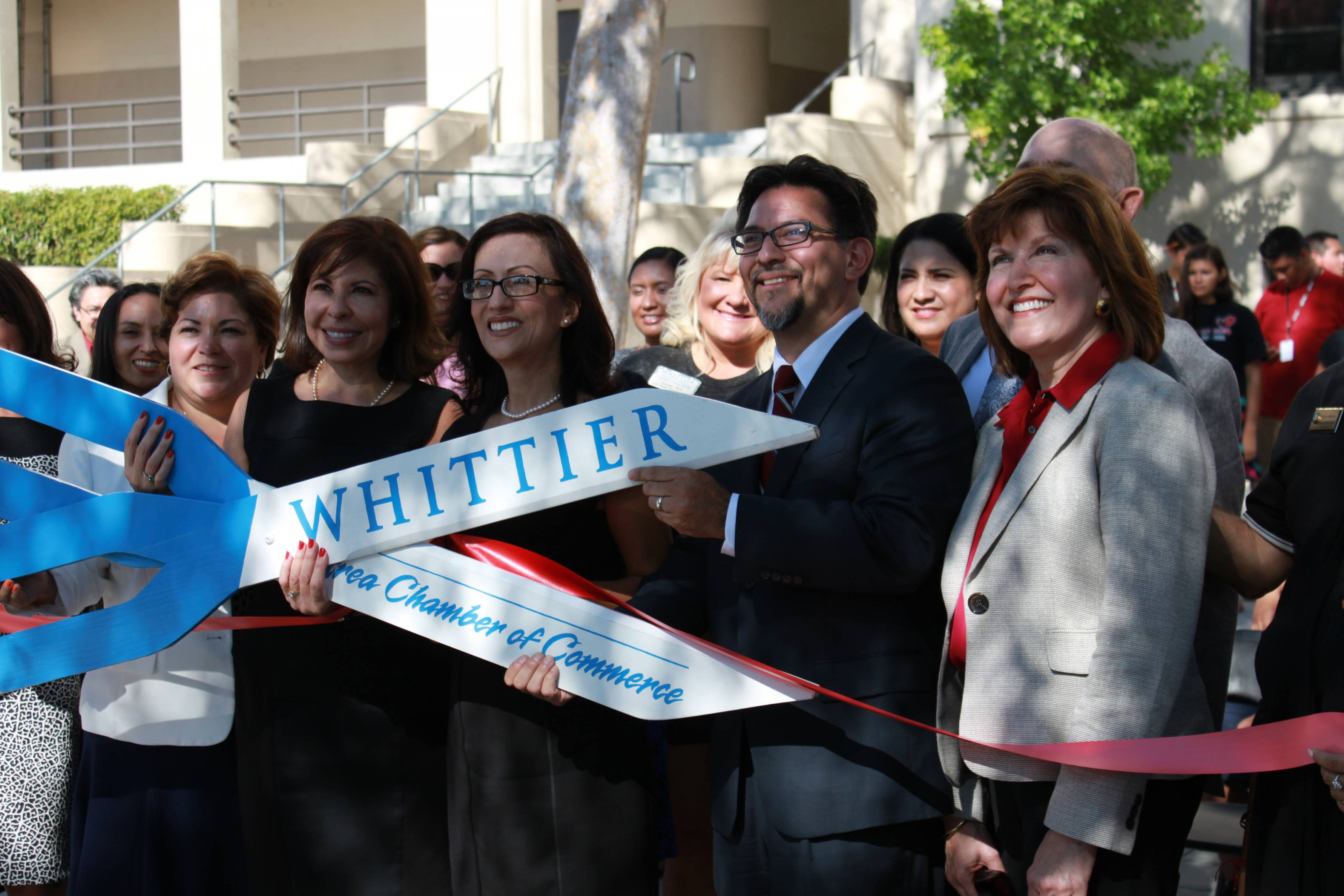 Whittier High School Celebrates Opening of Full-Time